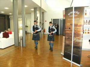 Pipers at Graz